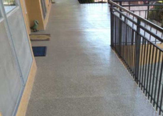 Oakland HOA Walkway and Stair Refinishing