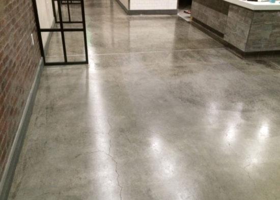 Polished Concrete Floor, SharedTea Alameda
