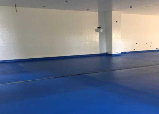 Polished Concrete Flooring, Hidden Star Orchards, Apple Cooler, San Leandro