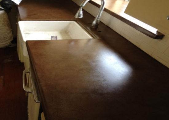 Concrete Staining & Overlay, Concrete Countertops