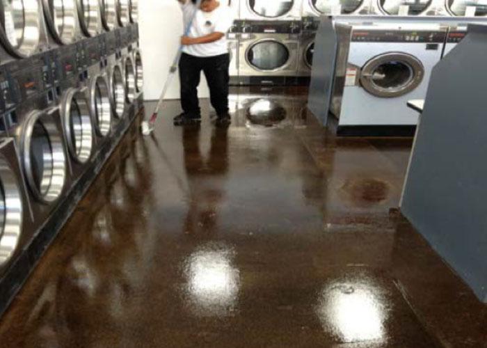 Concrete Floor Staining & Overlay